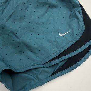 Nike Shorts - Nike Dri Fit Teal & Black Accent Shorts Sz Medium